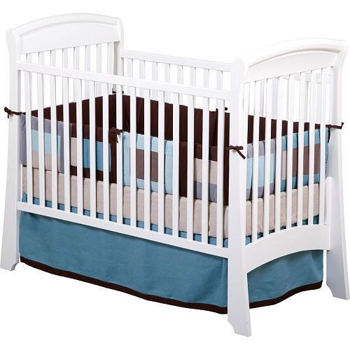 Solutions By Kids R Us Convertible Sleigh Crib White Bed Mattress Sale