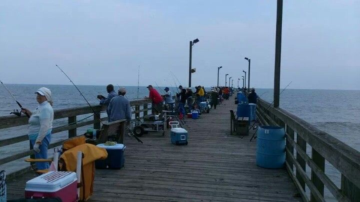 Sea view fishing pier north carolina favorite places for Seaview fishing pier facebook