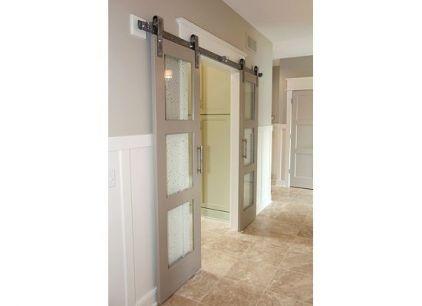 Glass Paned Sliding Barn Doors House And Home Pinterest