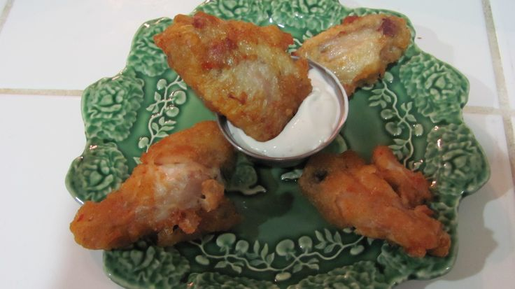 Spicy Buffalo Wings & Pareve Ranch Dip | Kosher Food | Pinterest