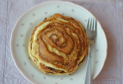 cinnamon swirl pancakes | breakfasts | Pinterest