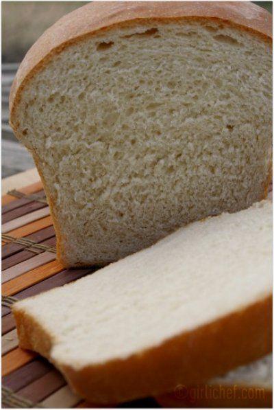 Basic White Bread | Bread Recipes | Pinterest