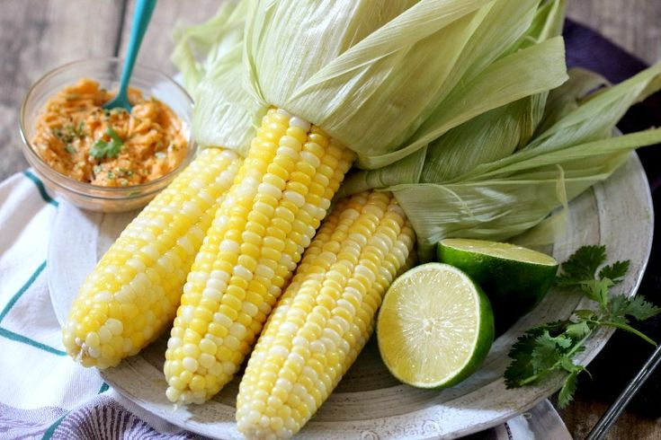 Roasted Corn with Smoky Lime Butter