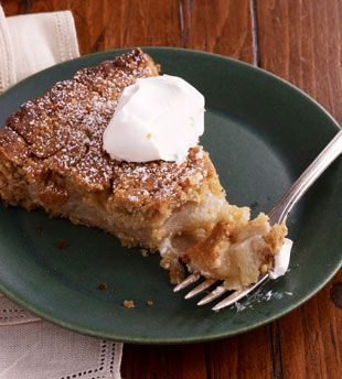Apple Torte with Breadcrumb-Hazelnut Crust....can't wait to try...