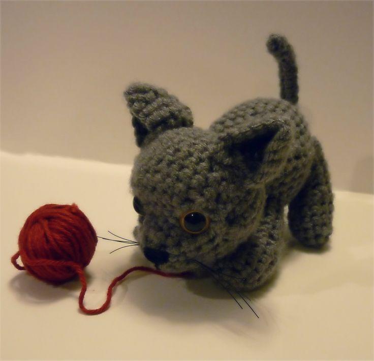 Crochet Patterns Kittens : crochet kitten stuffies, poppets, dolls, etc Pinterest
