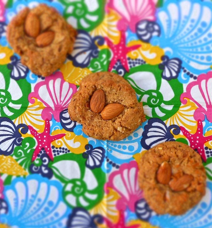 Almond Honey Buttered Thumbprint Cookies | Cookies | Pinterest