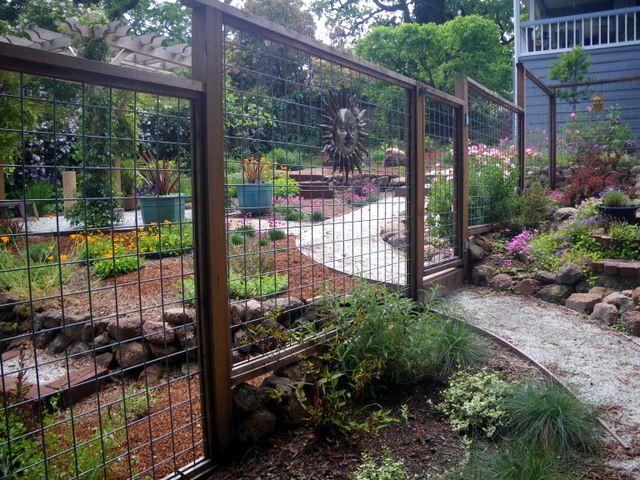 Fence to keep out deer garden inspiration pinterest - Garden ideas to keep animals out ...