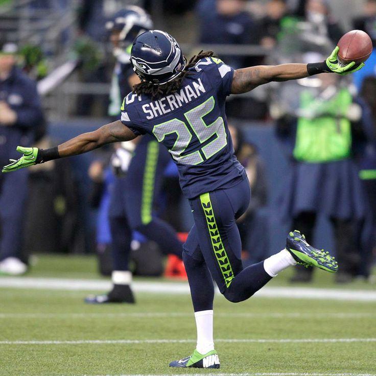 Richard Sherman, Seattle Seahawks | Seahawks | Pinterest