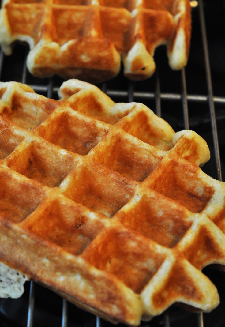 Sour Cream Waffles | Recipes I'm Dying to Try! | Pinterest