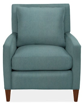 Emory Chair & Ottoman - Chairs -  - Room & Board