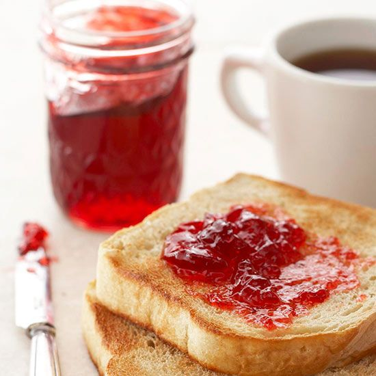 Sour Cherry and Amaretto Jelly
