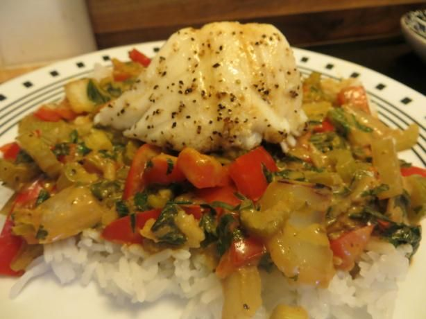 green curry recipes dishmaps tilapia baked in thai green curry recipes ...
