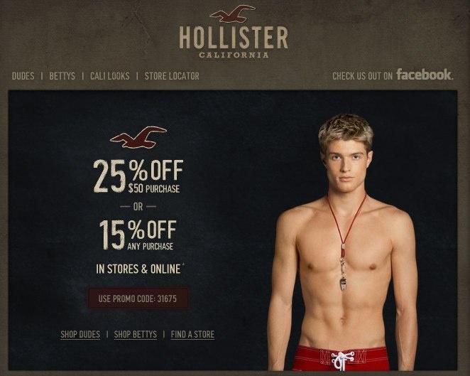 Hollister co printable coupons 2018