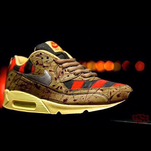 Custom - Nike Air Max 90 x Freddy Krueger