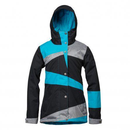 Roxy Rydell Insulated Snowboard Jacket (Women's) - Caribbean Sea