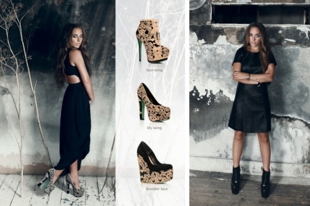 Chloe green second topshop shoe