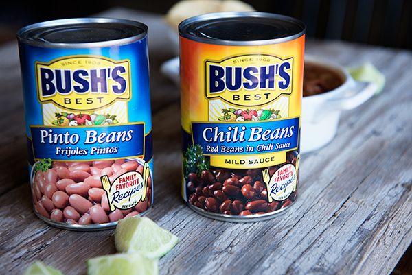 Boys {Recipe: Half-Smashed Refried Beans}