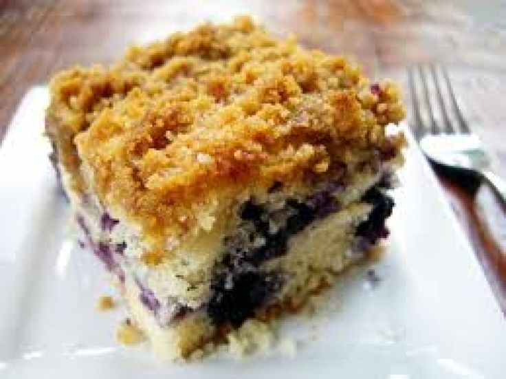 Blueberry Crumb Coffeecake | Baking/Sweets | Pinterest