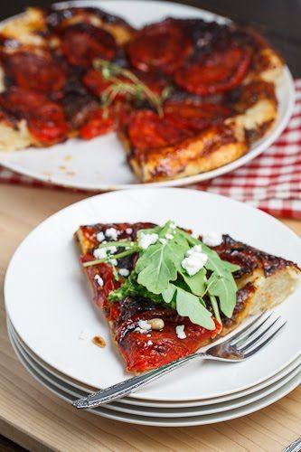 Slow Roasted Tomato Tatin   Recipe
