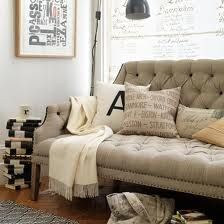 Cozy pillows and throws