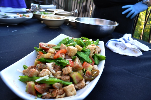 Mix & Mingle Panzanella Salad Heirloom Tomatoes, Winged Beans, Fresh ...