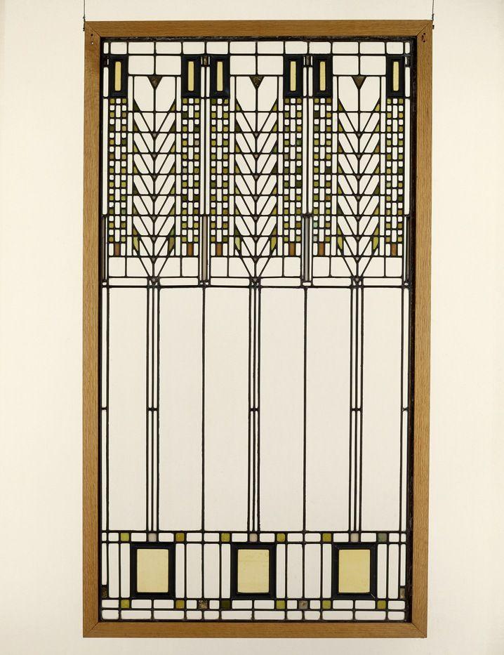 Frank Lloyd Wright Window Ii Architecture Pinterest