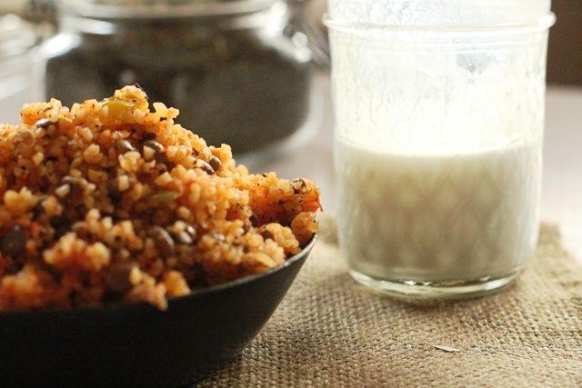 Bulgur pilaf with green lentils & ayran | Turkish Cuisine | Pinterest