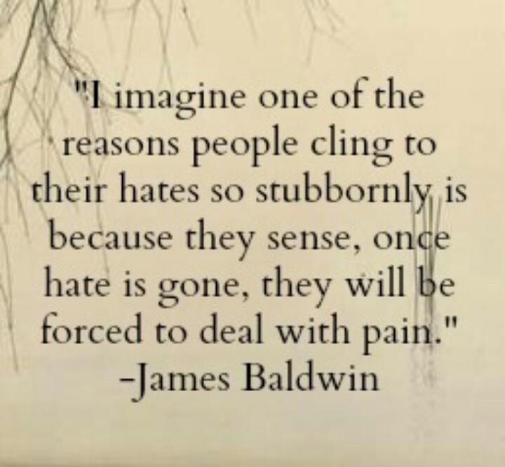 James Baldwin Quotes On Hate