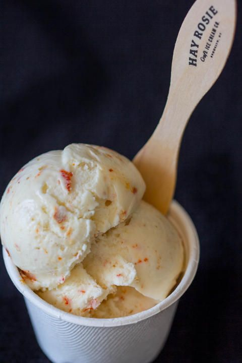 Sriracha popcorn ice cream | Food | Pinterest