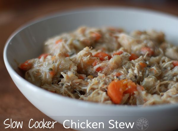 Slow Cooker Chicken Stew : Skinless Chicken Breasts, 6 Carrots, 2Ibs ...