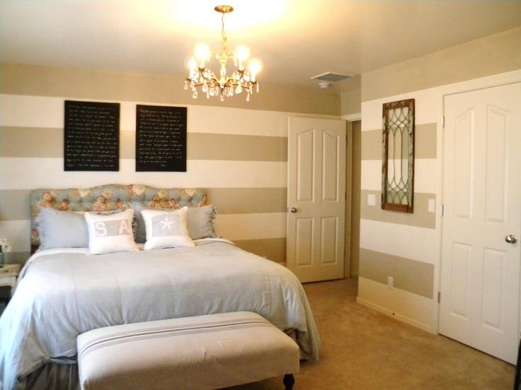 stripes bedroom pinterest