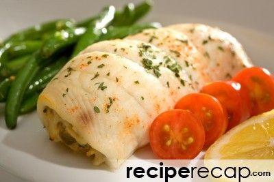 Crab Stuffed Sole Fish Fillet Recipe | Pescetarian | Pinterest