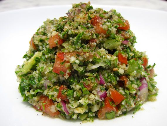 Cauliflower Tabbouleh Recipe: A Grain-Free, Gluten-Free Reinvention ...