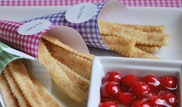 Buttercream Bakehouse: Pie Fries | delish | Pinterest