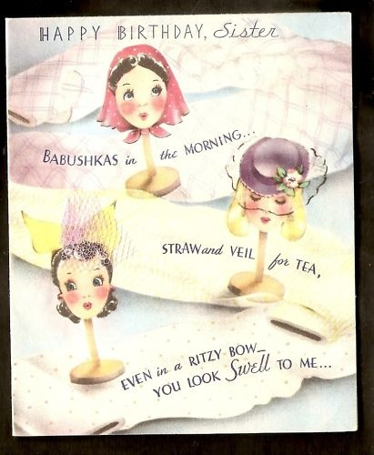 Vintage Birthday Wishes For Sister ~ Pin by jessica cangiano on vintage birthday wishes pinterest