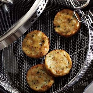Potato Caraway Cakes | On the side | Pinterest