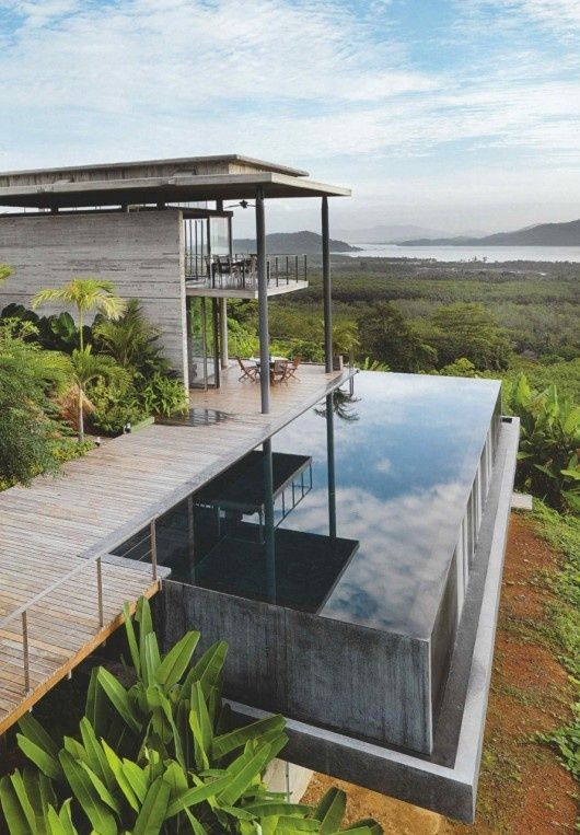 The Infinity Pool House Exterior Accents Pinterest