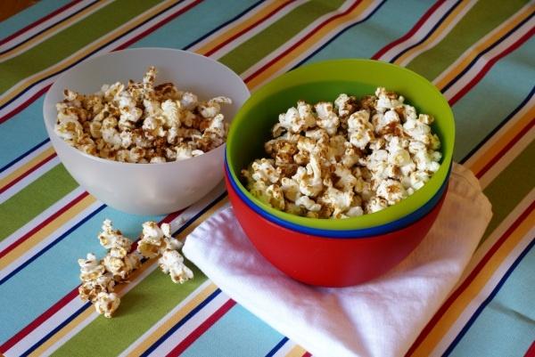 Sugar and Spice Popcorn | Light Sweet Treats | Pinterest