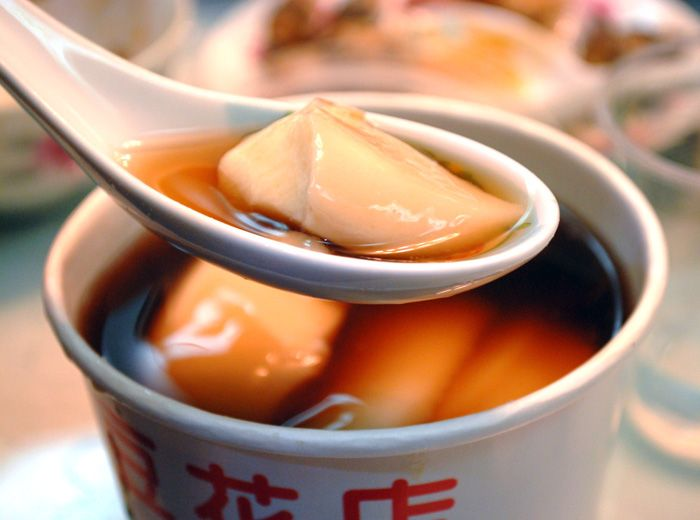 Sweet Tofu Pudding (Doufu Hua) Recipe — Dishmaps