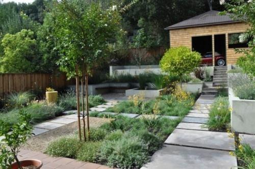 Courtyard garden modern landscape desert landscaping for Courtyard landscaping pinterest