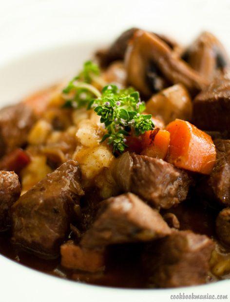Beef Bourguignon | Eats and Libations | Pinterest