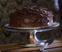 Cinnamon-Caramel -Ganache Layer Cake-Christmas 2009 (make the filling ...
