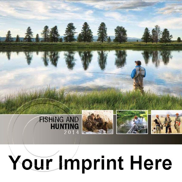 Pin by promo calendars direct on 2014 promotional for Hunt fish calendar
