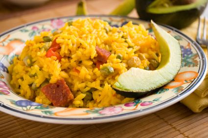 Arroz con Gandules - Rice and Pigeon Peas