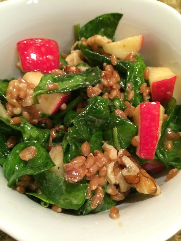 Roasted Root Vegetable & Wheat Berry Salad Recipes — Dishmaps