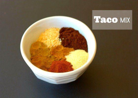 Taco Mix | Recipe