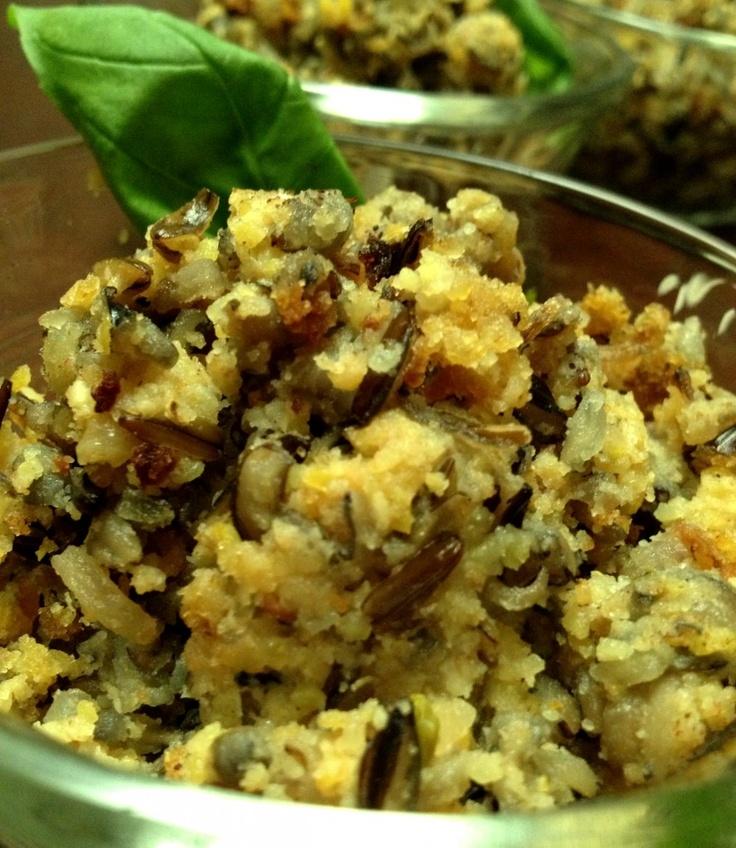 cornbread wild rice stuffing | cooking ♨ rice | Pinterest