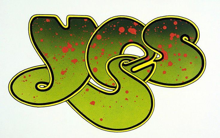 Yes Logo, 1990