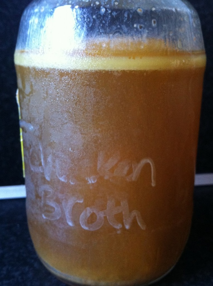 Slow Cooker Chicken Stock | Slow Cooker & Crock Pot Meals | Pinterest