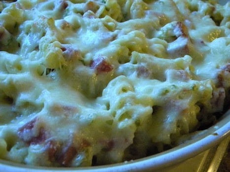 Easy Ham and Swiss Casserole Recipe